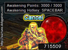 Awakening Points wartune