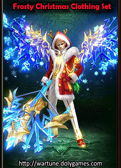 Frosty Christmas Clothing Set