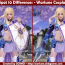 Spot 10 Differences – Wartune Cosplay Girl 2011