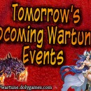 Wartune Events 20 January 2017