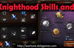Archer Knighthood Skills and Talents - featured