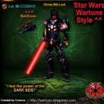 COSMOS Divine Sith Lord Star Wars Wartune Style