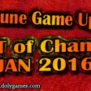 Wartune Game Update – LIST – JAN 2016