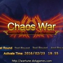Chaos War 23 Feb 2016 and Shop of Turmoil