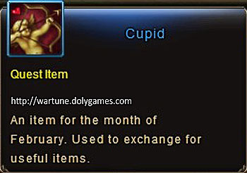Cupid item description Wartune