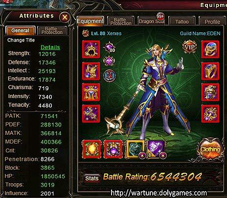 Dragon Invasion 20 Xerxes character