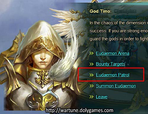 [Patch 5.6] Eudaemon Patrol God Timo NPC 2