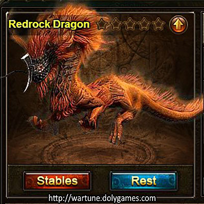 Redrock Dragon +200 mount view Stables