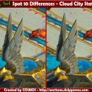 Spot 10 Differences – Cloud City Statue
