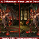 Spot 10 Differences – Yaros Lord of Destruction