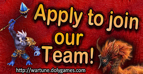 Apply to join DolyGames Wartune Team