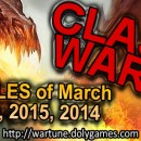 Class Wars March 2016, 2015 and 2014