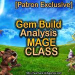 Gem Build Analysis Mage Class DolyGames Wartune