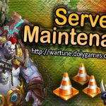 Server Maintenance DolyGames Wartune