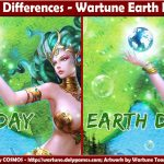 Spot 10 Differences - Wartune Earth Day 2016
