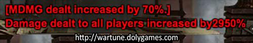 2950 percent timer damage Wartune