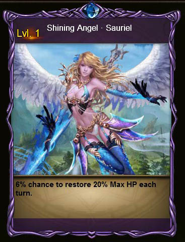 ABYS4 Shining Angel Sauriel Card Wartune large