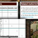 Archaeology Furniture and Items Table – REFERENCE