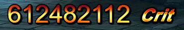 Cane 612,482,112 damage