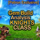 [Patron Exclusive] Best Gem Choices for Knights (Analysis, Apr. 2016)