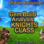 Gem Build Analysis Knights Class DolyGames Wartune