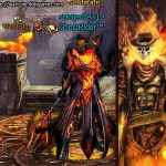 Ghost Rider clothing set full height