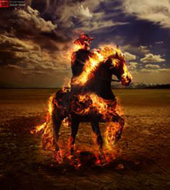 Ghost-rider-fire-horse