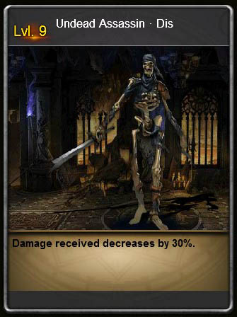 NECR Undead Assassin Dis Card Wartune large