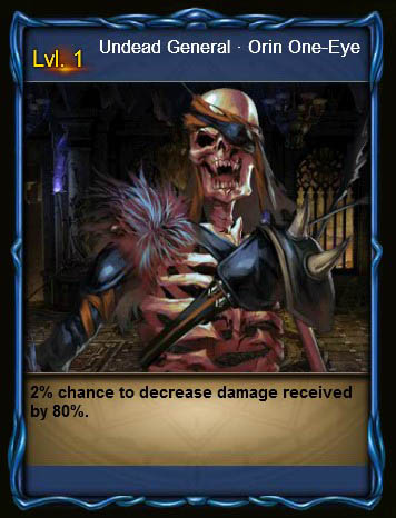 NECR Undead General Orin One-Eye Card Wartune large