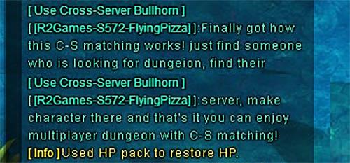 The Secret of Cross Server Dungeons [FUN]