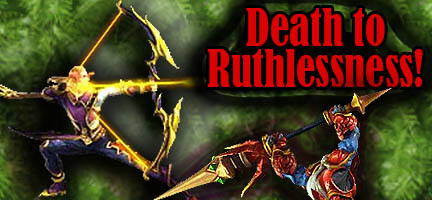 death to Ruthlessness astral