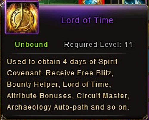 Lord of Time illegal breach Patch 5.8
