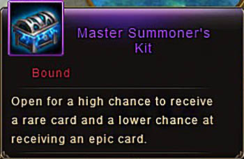 Master Summoner's Kit item Wartune