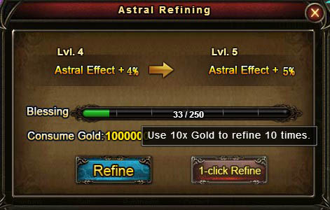 [Patch 5.8] 10x astral 1-click refine