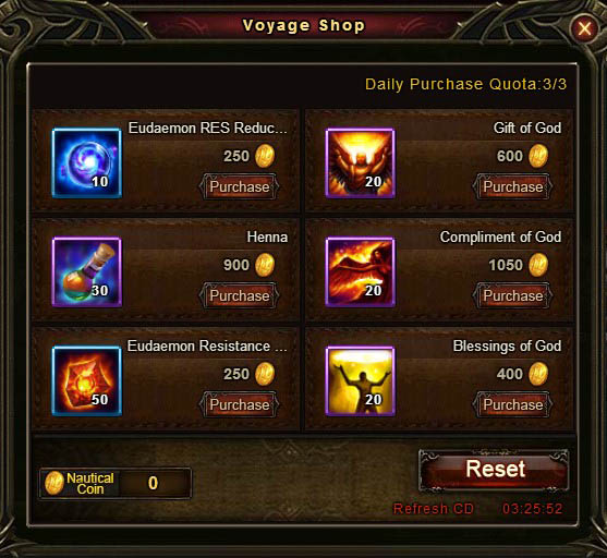 [Patch 5.8] Adventurous Voyage Voyage Shop 1