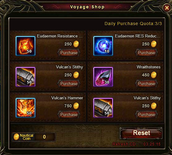 [Patch 5.8] Adventurous Voyage Voyage Shop 2