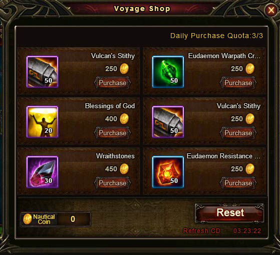 [Patch 5.8] Adventurous Voyage Voyage Shop 4