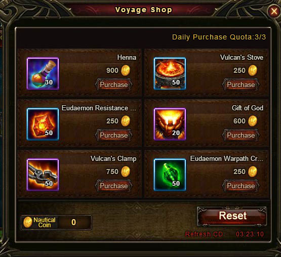 [Patch 5.8] Adventurous Voyage Voyage Shop 5