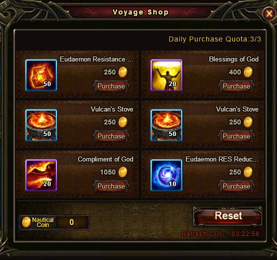 [Patch 5.8] Adventurous Voyage Voyage Shop 6