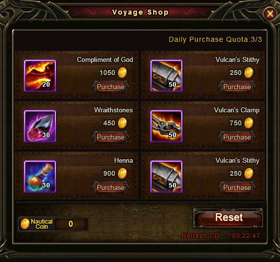[Patch 5.8] Adventurous Voyage Voyage Shop 7