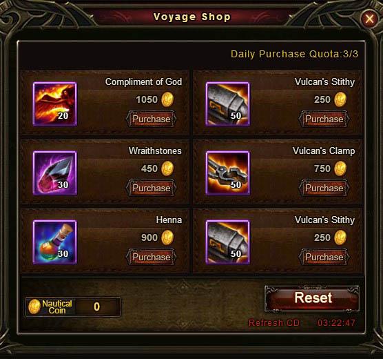 [Patch 5.8] Adventurous Voyage Voyage Shop 7