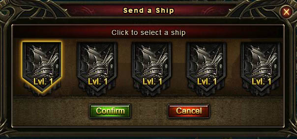 [Patch 5.8] Adventurous Voyage select ship