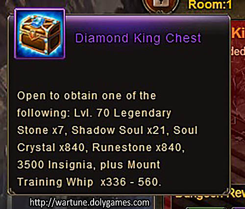 [Patch 5.8] Diamond King Chest TOK NM