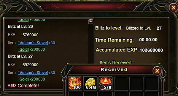 [Patch 5.8] EXP from Purgatory Maze