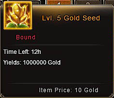 [Patch 5.8] Level 5 Gold seed item description