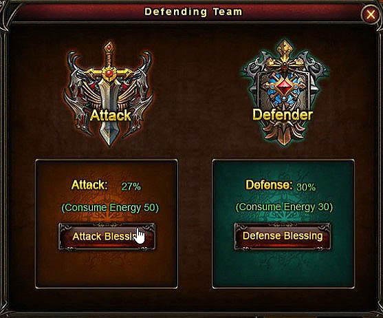 [Patch 5.8] Outland Contest attack and defense blessing