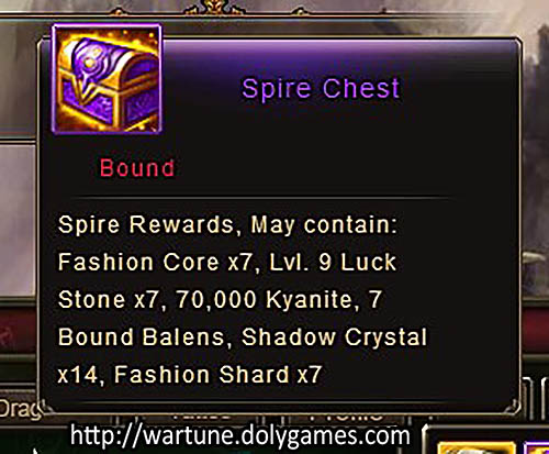 [Patch 5.8] Spire Normal Chest
