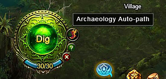 [Patch 5.8] Spirit Covenant auto-path Archaeology 2