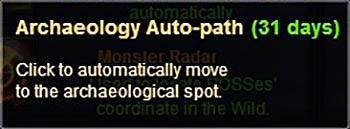 [Patch 5.8] Spirit Covenant auto-path Archaeology