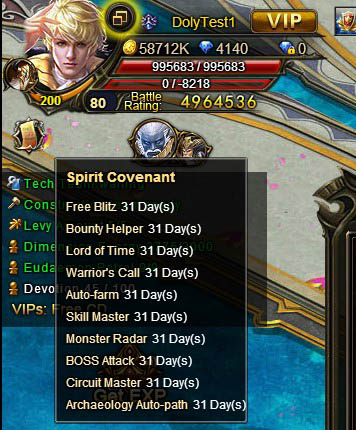 [Patch 5.8] Spirit Covenant no healing